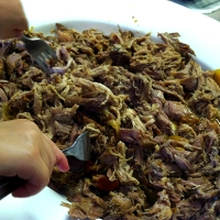 Spicy Pop Pulled Pork & Onions