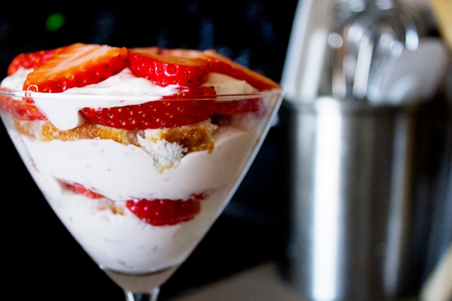 Mini Lemon-Berry Trifles for Two via applestoziti.com