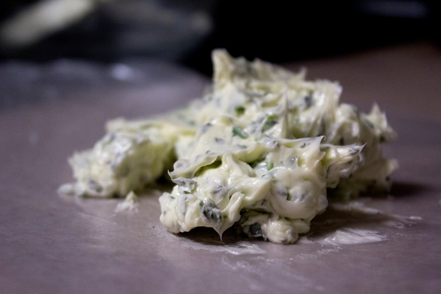 Thyme-Chive Butter via applestoziti.com