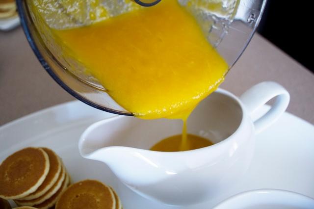 Mango Pancake Topping | ApplestoZiti.com