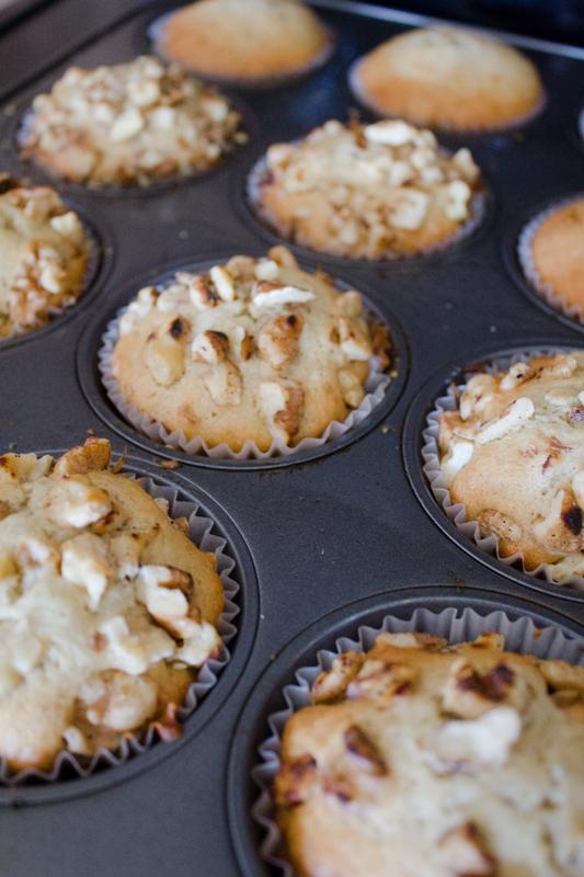 Vanilla Bean Banana-Walnut Muffins-27