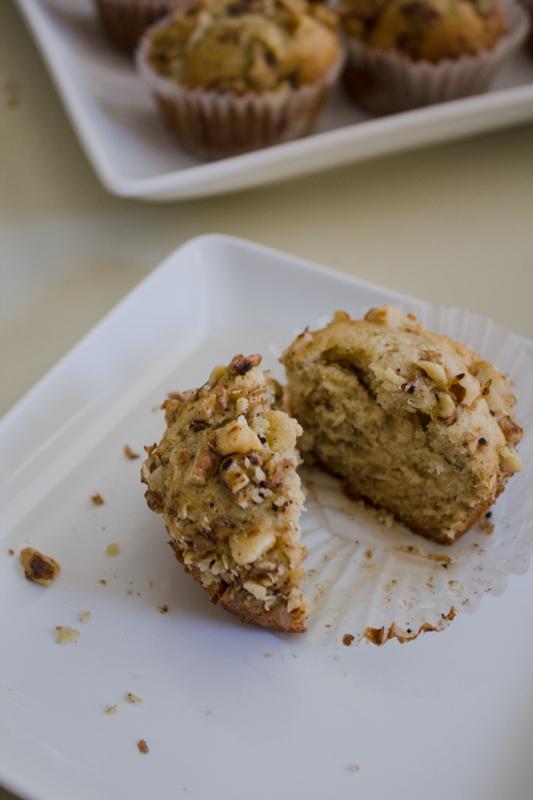 Vanilla Bean Banana-Walnut Muffins-36