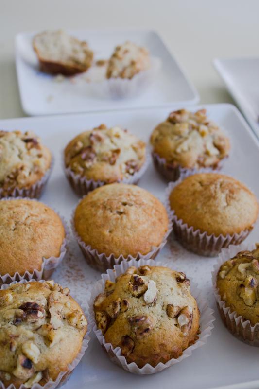 Vanilla Bean Banana-Walnut Muffins-37
