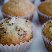 Vanilla Bean Banana-Walnut Muffins