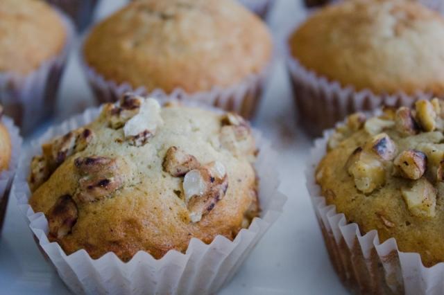 Vanilla Bean Banana-Walnut Muffins-39