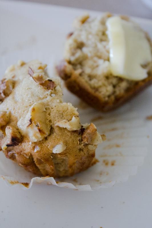 Vanilla Bean Banana-Walnut Muffins-42
